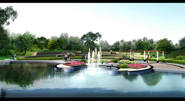 泸洲城市公园园林景观规划设计