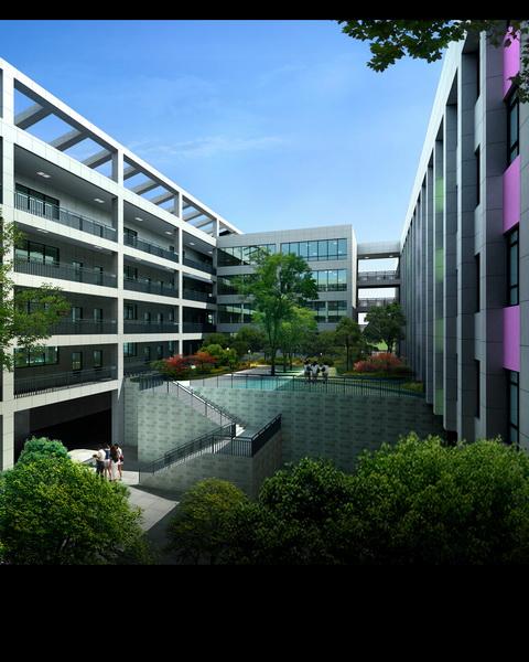 通川小学一号方案建筑设计