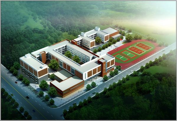通川小学二号方案建筑设计