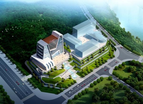 泸洲川南机械厂办公楼建筑方案设计