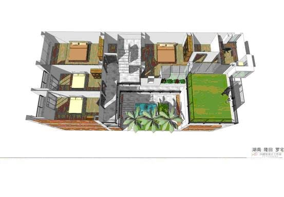 農村70平方米自建房設計圖展示