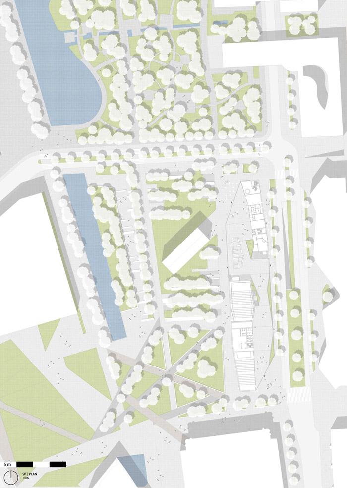 赫尔辛基中央图书馆竞赛方案之二