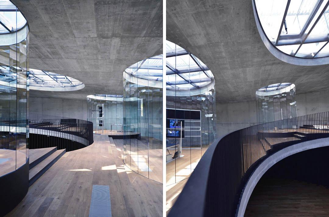 博物馆建筑室内透视图