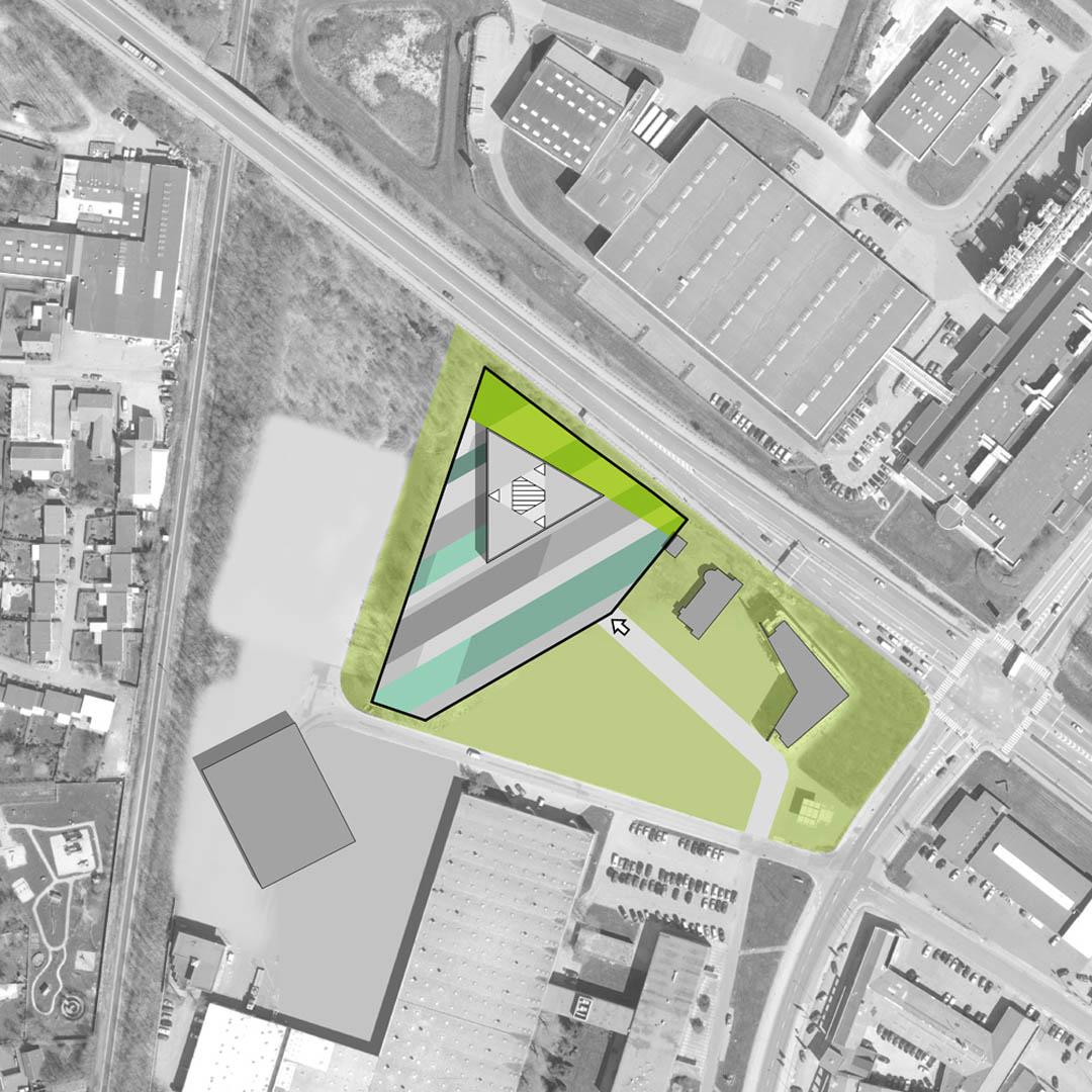 公建筑设计平面图
